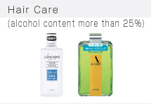 Hair Care (alcohol content more than 25%)